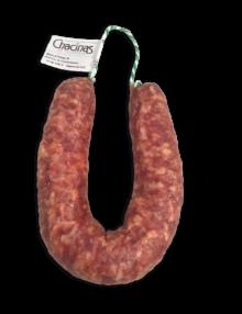 Salchichón herradura Ibérico_Chacinas de Villanueva