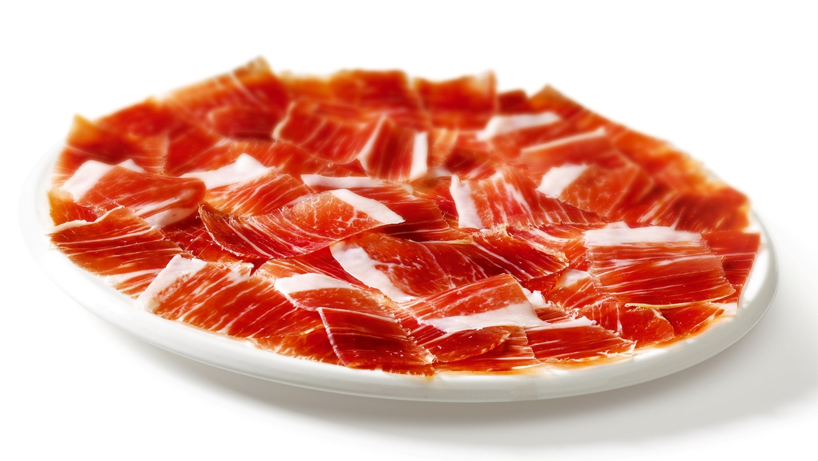 platos con jamon